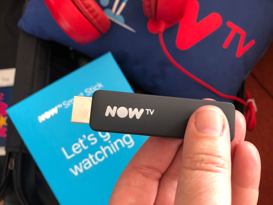 Keeping the family entertained with the NOW TV Smart Stick
