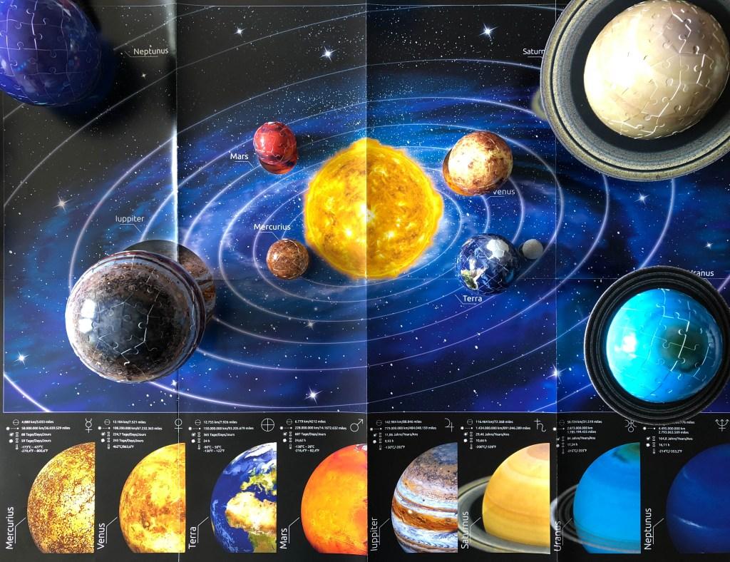 Ravensburger solar system 3d planet