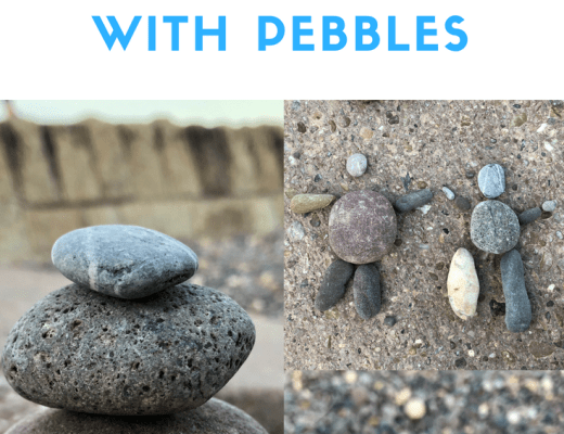 4 ways to play with pebbles at the beach