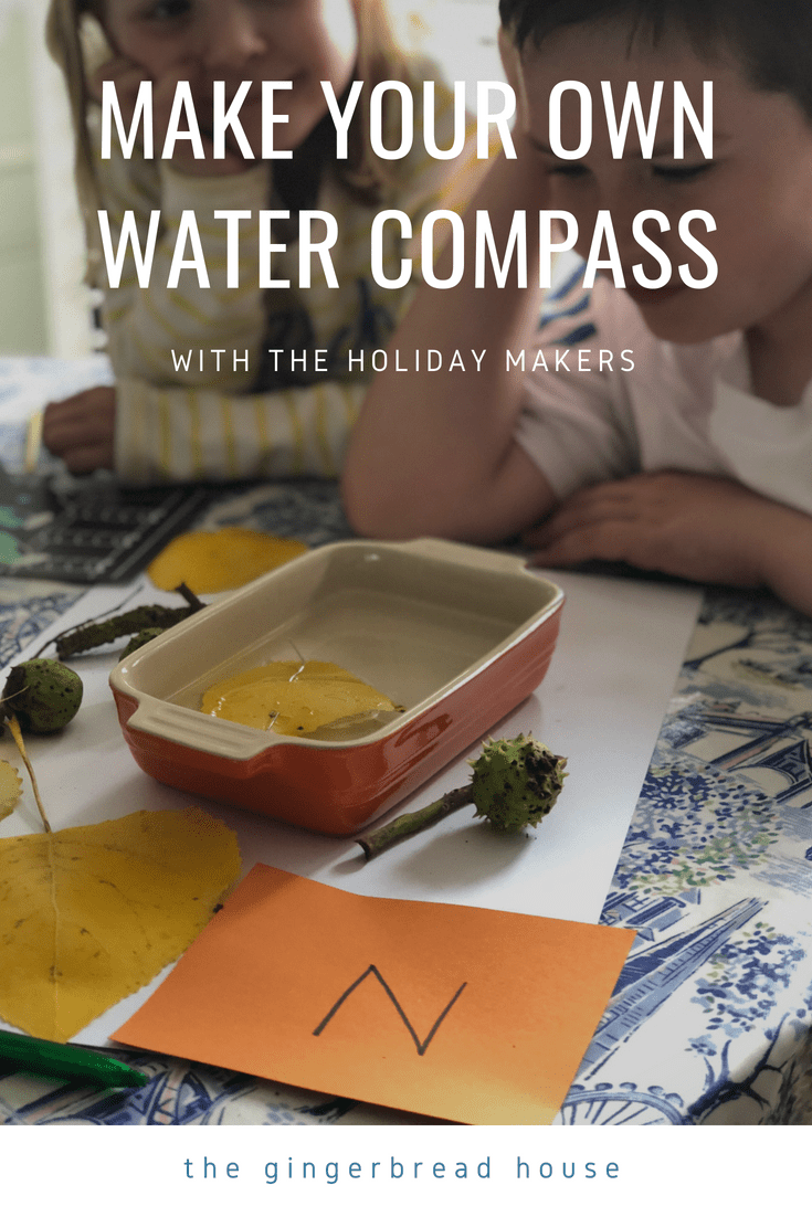 make your own water compass