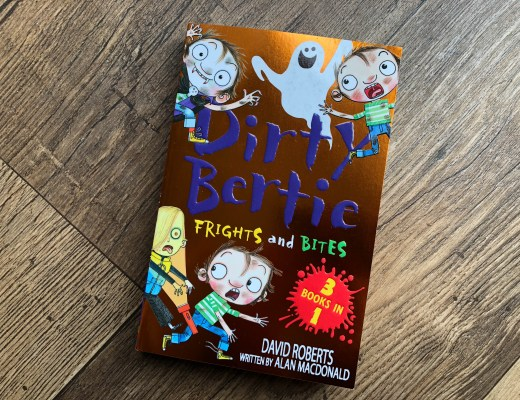Win a copy of Dirty Bertie: Frights and Bites