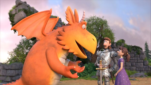 Zog the dragon animation brings magic this Christmas