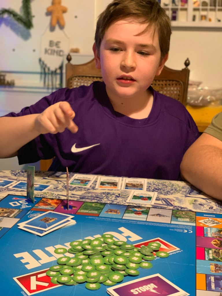 Monopoly Fortnite game