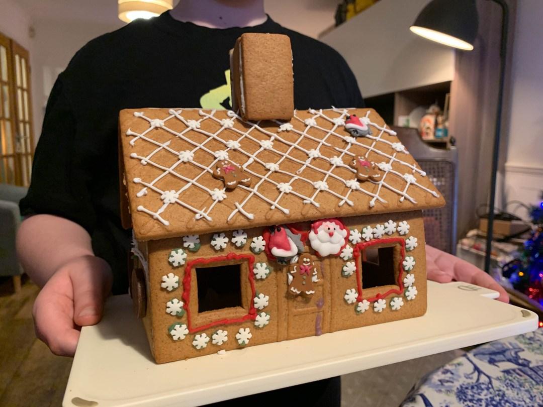 ikea gingerbread house