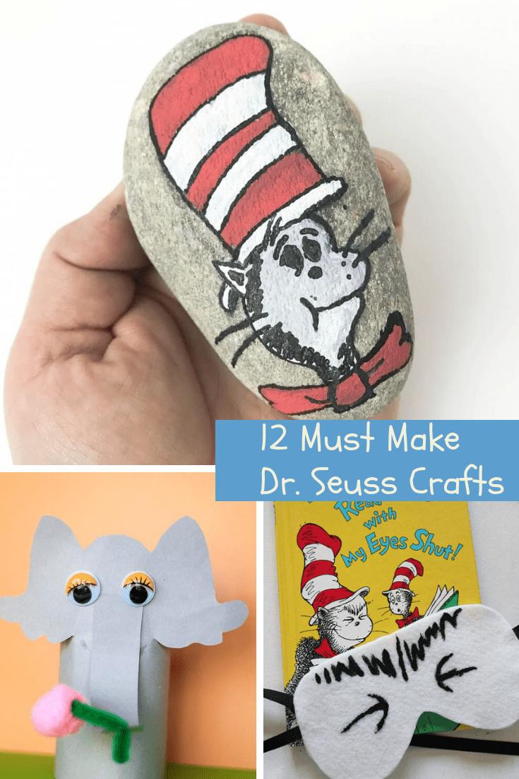 12 Must Make Dr. Seuss Crafts