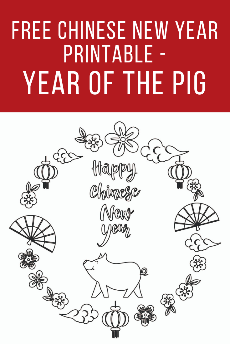 It's just an image of Divine Chinese New Year Printables