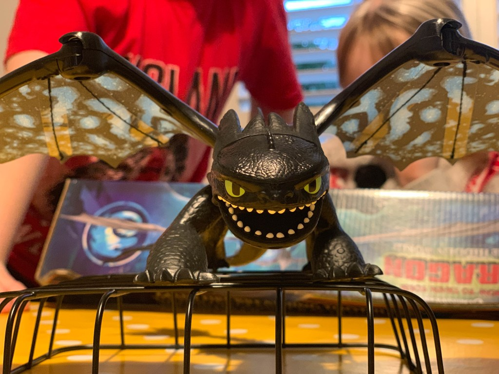 How to Train Your Dragon dragon toy