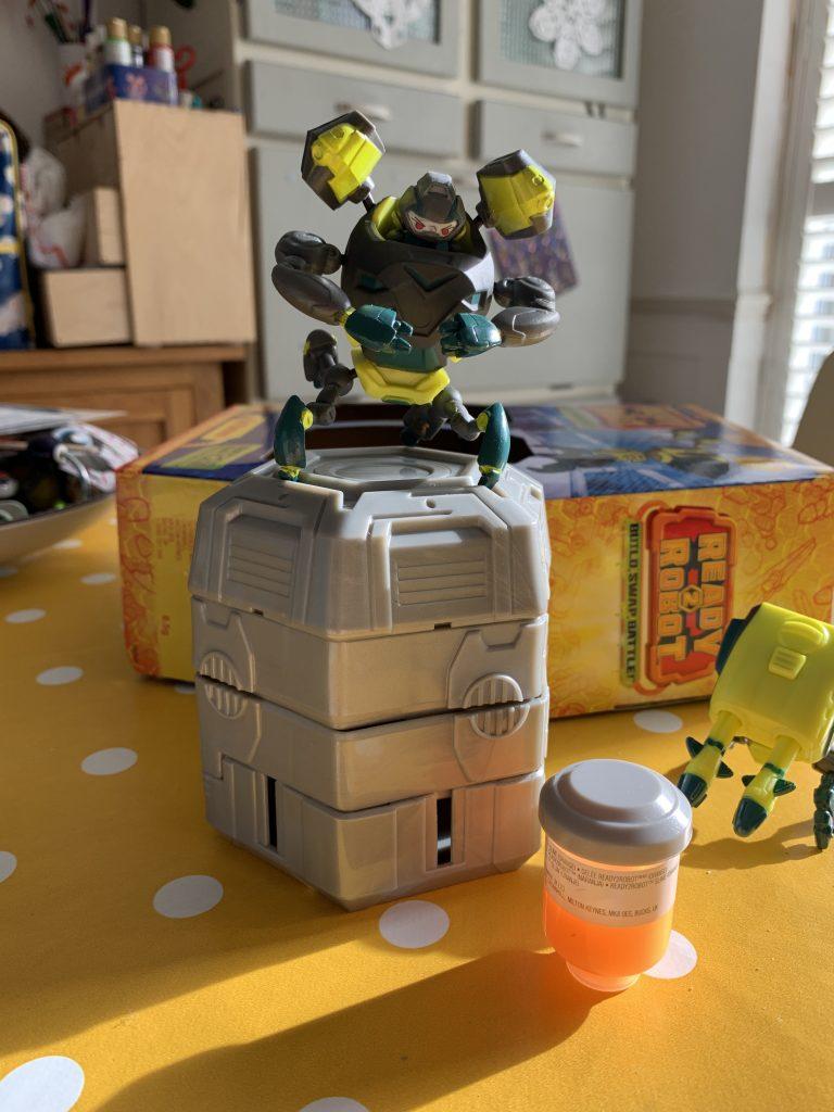 Ready2Robot: Build, Swap, Battle
