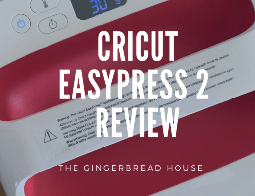 review of the Cricut EasyPress 2