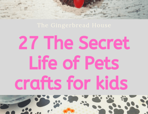 27 crafts to celebrate The Secret Life of Pets 2