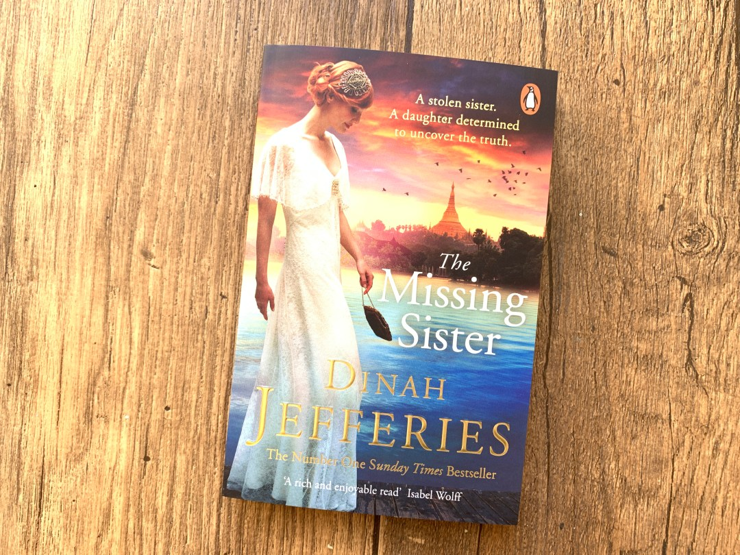 Win a signed copy of The Missing Sister by Dinah Jefferies