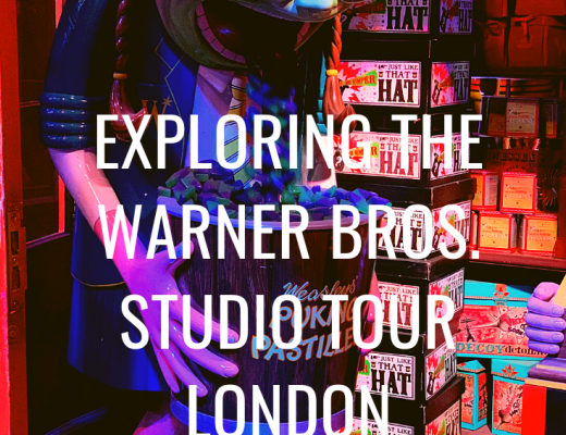 Exploring the Warner Bros. Studio Tour London {with a 7 and 9 year old}