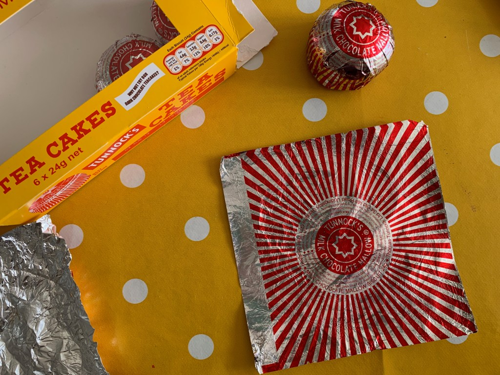 Tunnocks Caramel Wafer wrapper