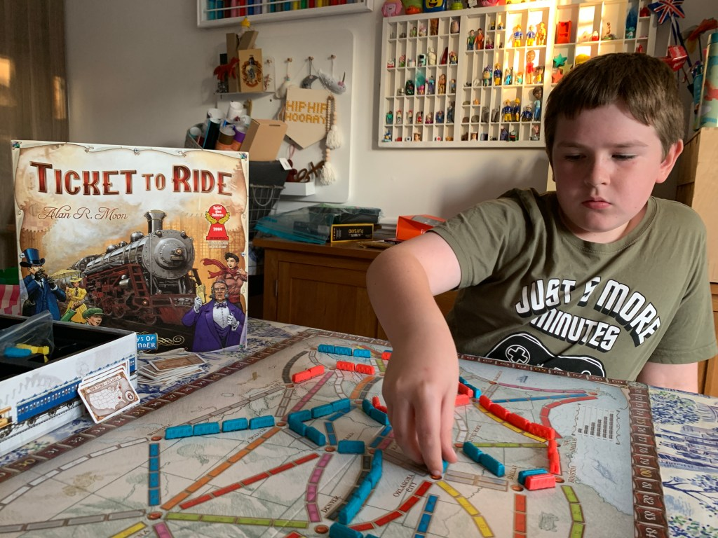 Blogger Board Game Club: Ticket to Ride