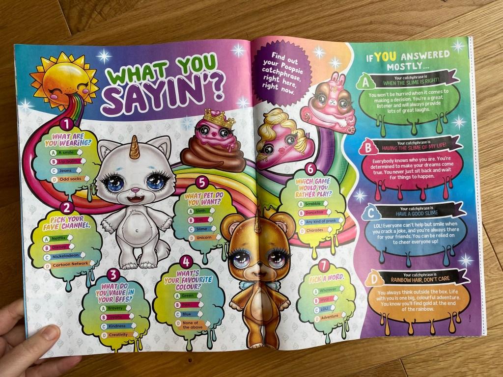 Poopsie Slime magazine