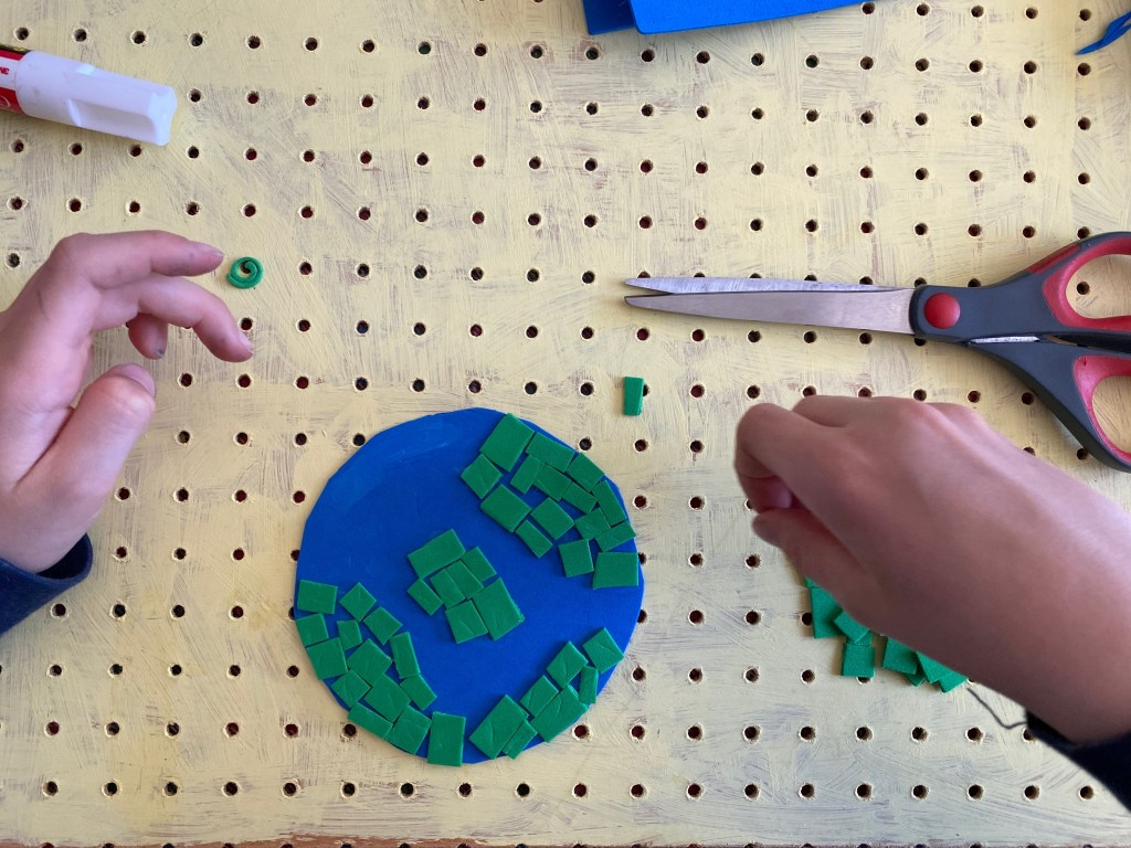 Earth Day craft for tweens