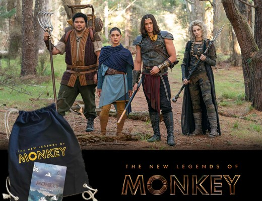Win The New Legends Of Monkey merch