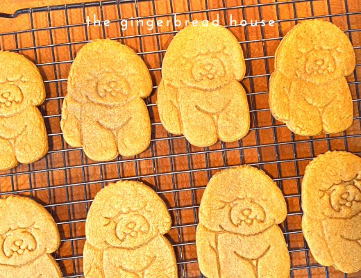 Easy Bichon Frise cookies