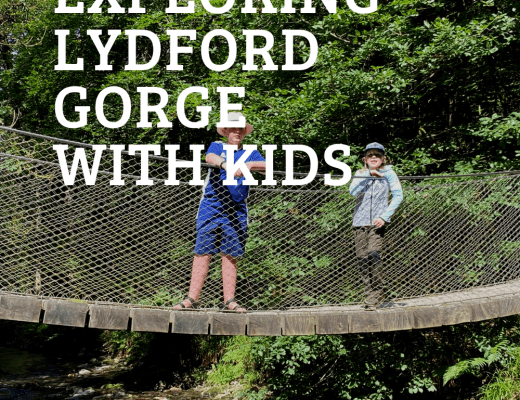 Exploring Lydford and Lydford Gorge with kids