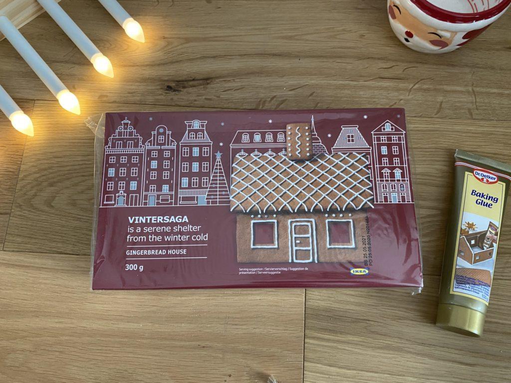 Ikea Vintersaga Gingerbread House