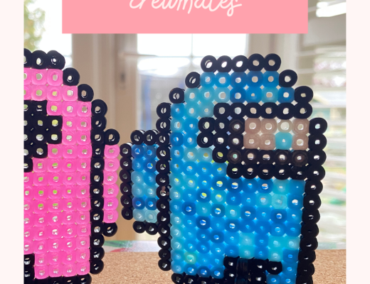 Among Us Hama bead crewmates