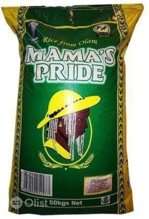 Mama Pride Premium Parboiled Rice In 50kg bag in Ikotun/Igando - Meals & Drinks, Jude Pius | Find more Meals & Drinks services online from olist.ng