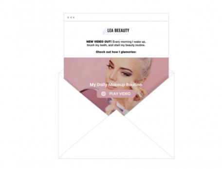 Wix ShoutOut-nieuwsbrief