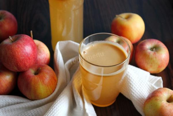 Яблочный сок без сахара на зиму рецепт с фото пошагово ...