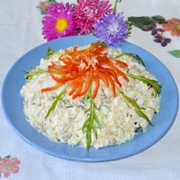 Салат курица с черносливом слоями рецепт с фото пошагово ...