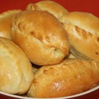 Тесто для пирожков с сухими дрожжами на кефире рецепт с ...