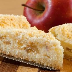 Пирог с яблоками и сметаной рецепт с фото пошагово - 1000.menu