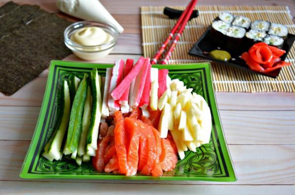 Начинка для суши в домашних условиях рецепт с фото ...