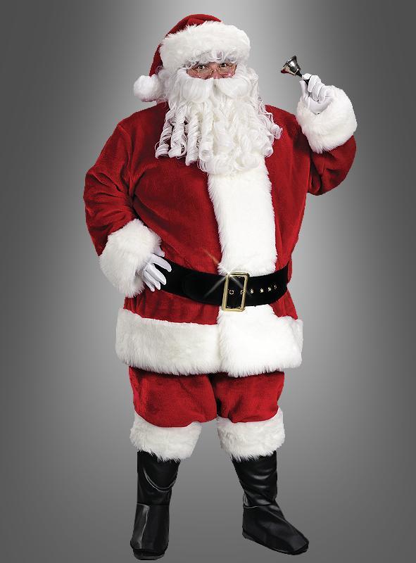 Weihnachtsmann Nikolauskostüm XXL