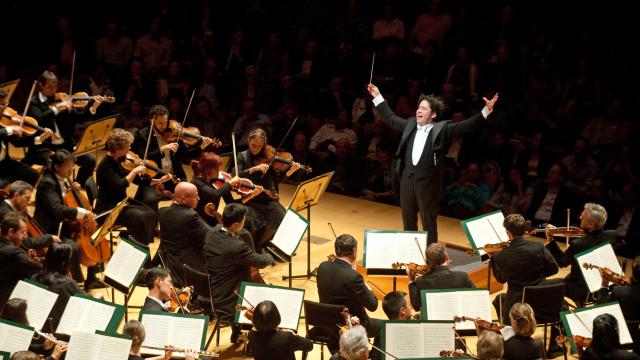 El homenaje musical de Dudamel a Abreu en CorpArtes | 13.cl