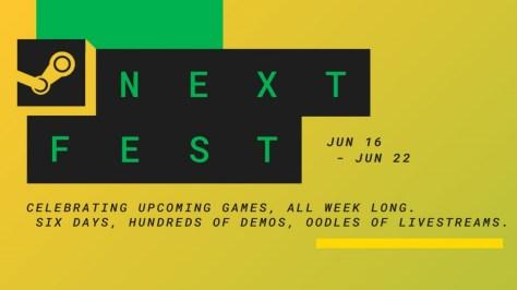 Cientos de demos estarán disponibles en el Next Fest de Steam