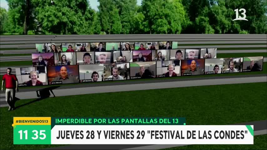 Así será la versión 2021 del Festival de Las Condes