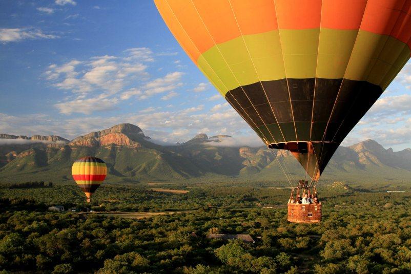 Excursie Zuid-Afrika - Ballon Safari Hoedspruit - 333travel