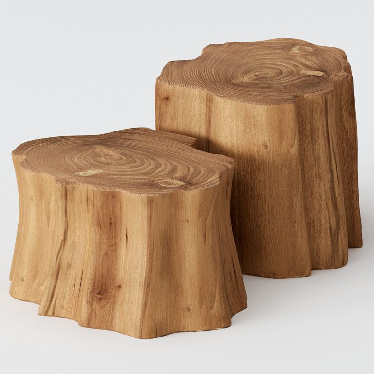 wooden stump coffee tables 3d model download 3d model wooden stump coffee tables 18997 3dbaza com
