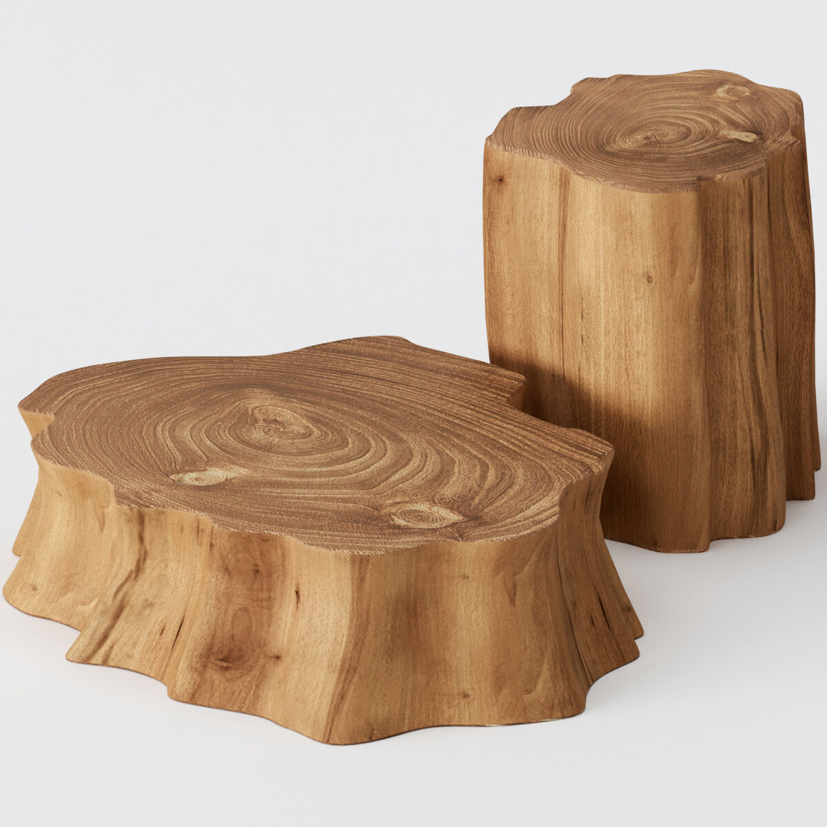 wooden stump coffee tables 3d model download 3d model wooden stump coffee tables 18998 3dbaza com