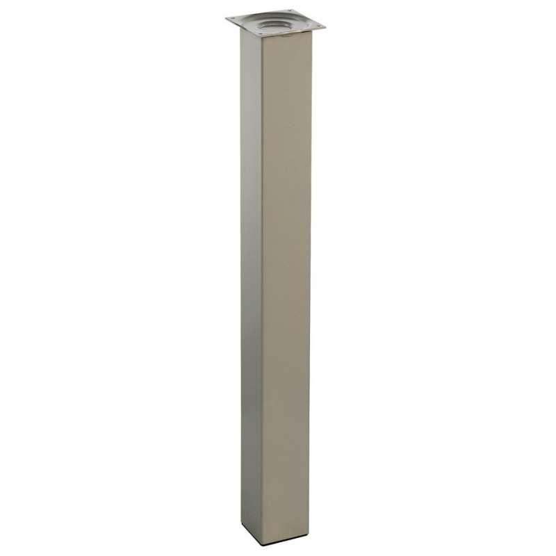 pied pour table de cuisine hauteur 90 cm a l unite quadra