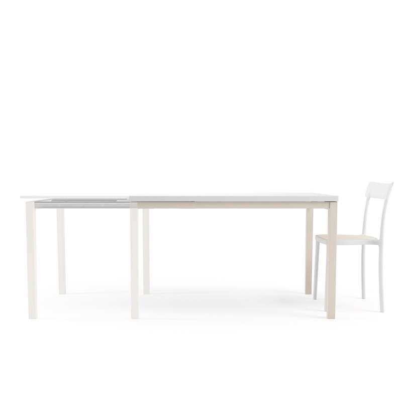 table de cuisine en verre avec rallonge toy bois