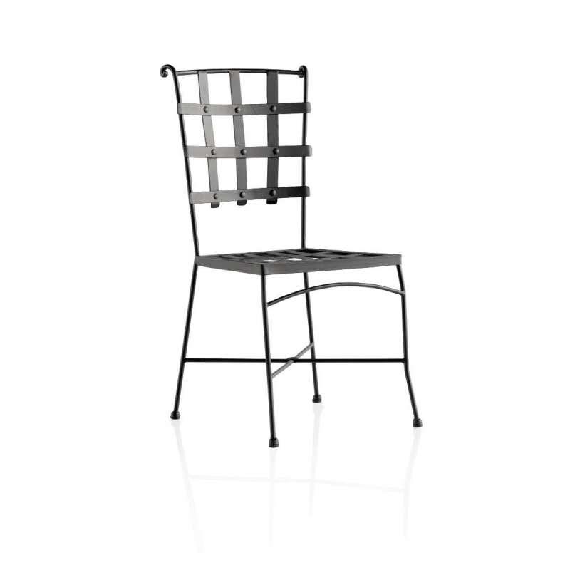chaise de jardin en metal genova