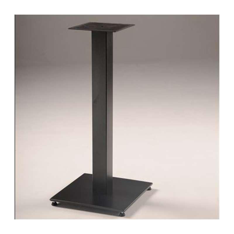 pied de table central en metal base carree square 450 carrier