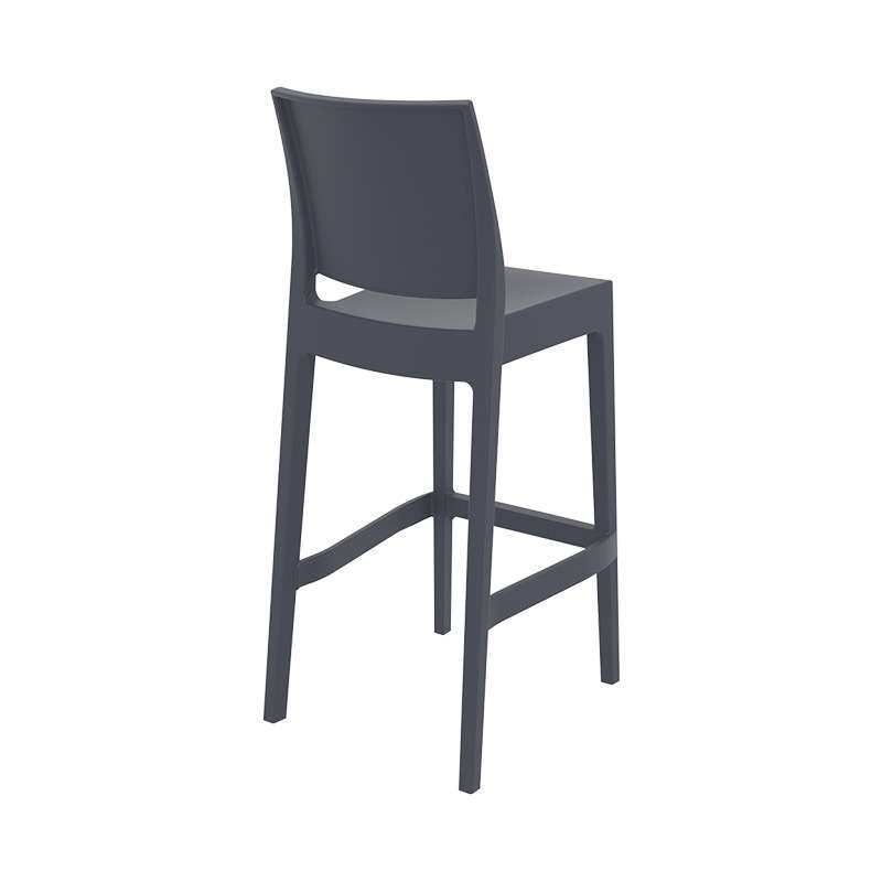 clp tabouret de bar maya en plastique empilable i chaise de
