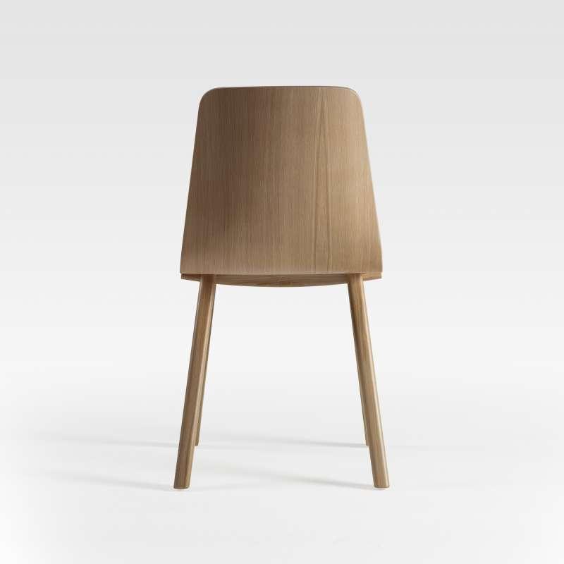 chaise de designer en bois fabriquee en france chevron