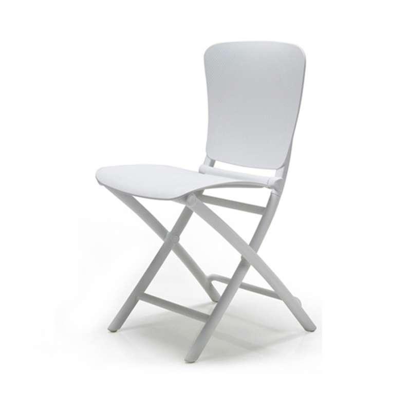 chaise d appoint pliante en polypropylene zac classic