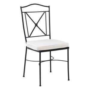 chaise de jardin fer forge achat en