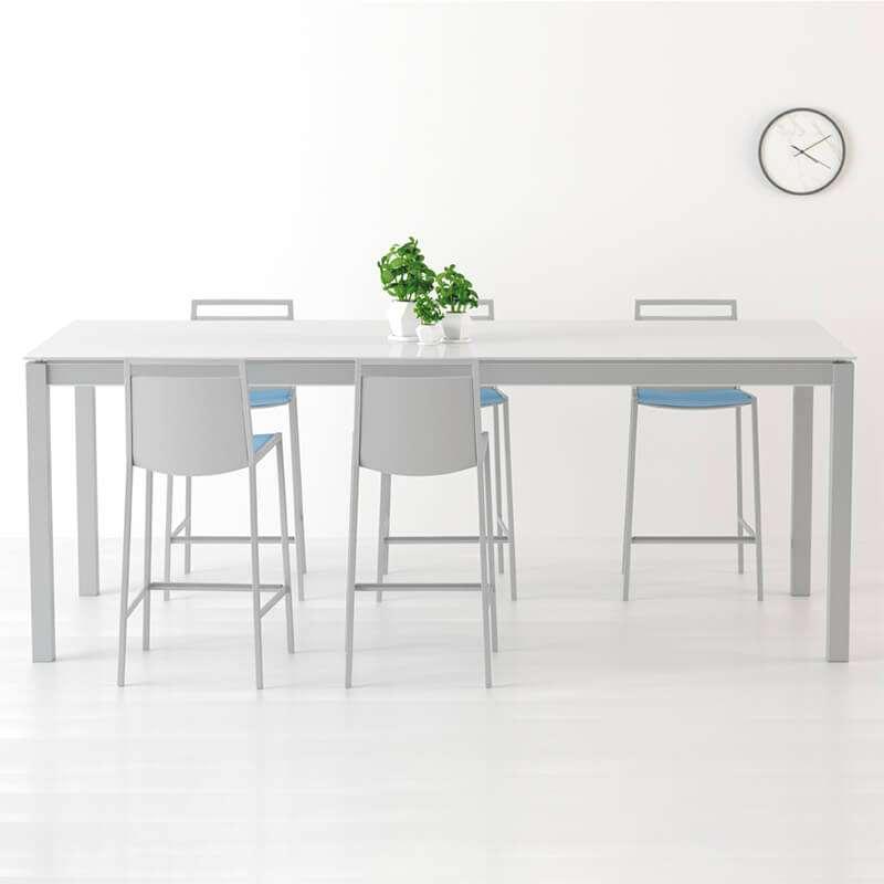 table en verre sur mesure personnalisable multipla