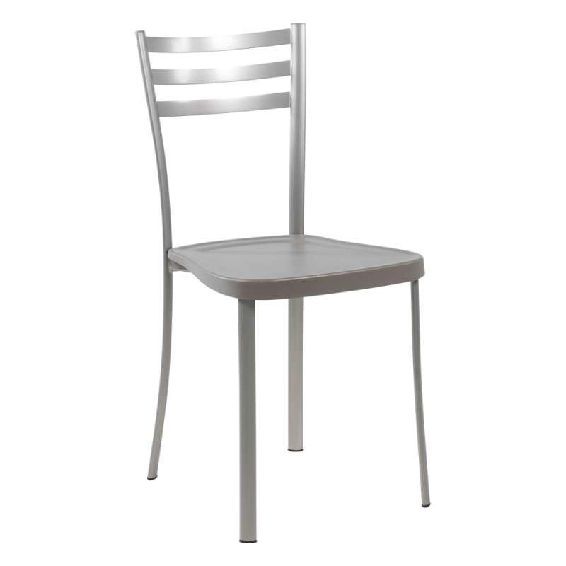 chaise de cuisine en metal avec assise en polypropylene ace 1320