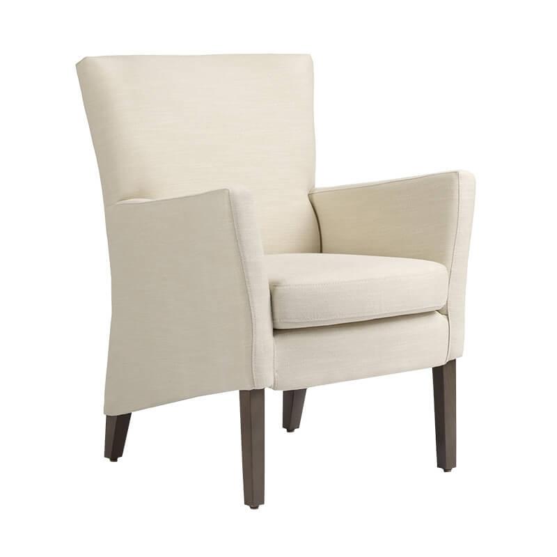fauteuil de salon en tissu manhattan mobitec